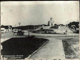 Antiga Igreja (Capela) São Sebastião de Barbacena MG