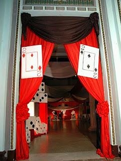 Decoracion de Fiestas de 15 Años Estilo Casino, parte 2