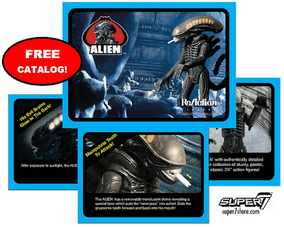 Super 7 ReAction Alien SDCC 2013 Catalog