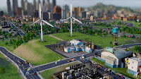 Usina de Energia Elica no SimCity - Estgio 3