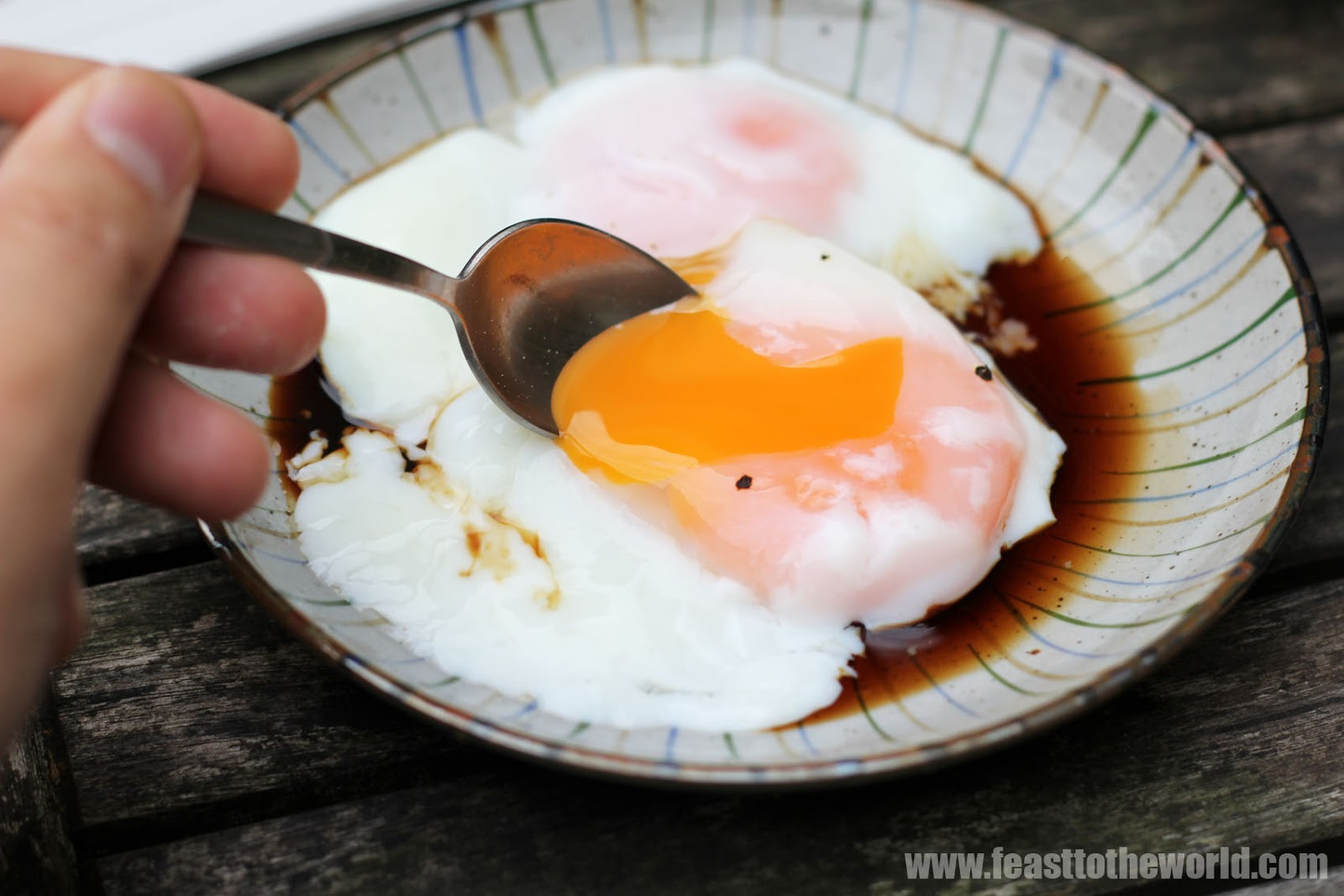 Singapore Halfboiled Eggs  100% Pure Egg Perfection!