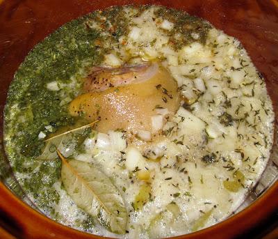 crock pot split pea & ham recipe