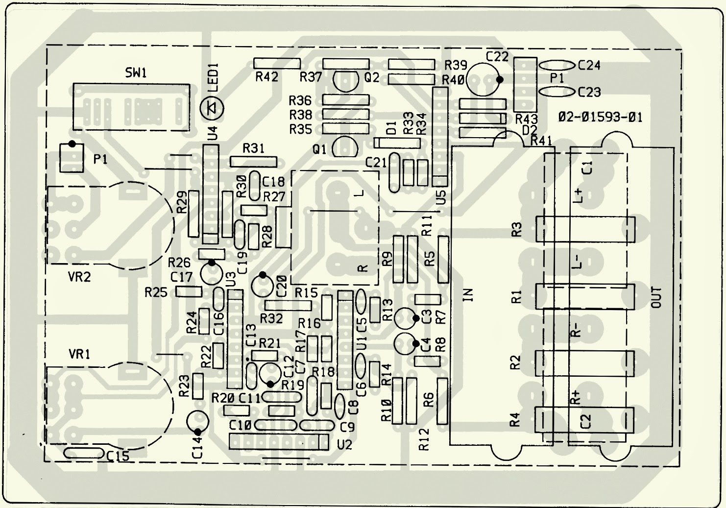 PREAMP+PCB.bmp jbl arc sub _ test procedure _ schematic diagram (circuit diagram arc 3701 wiring diagram at fashall.co