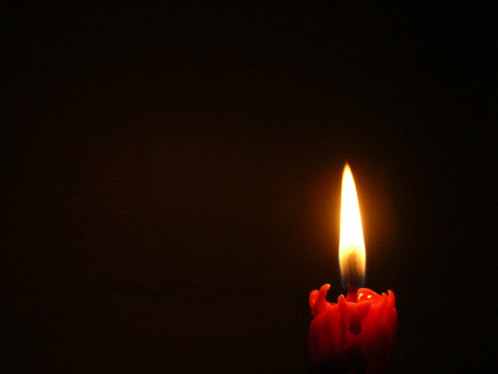 candle in the dark - photo #48