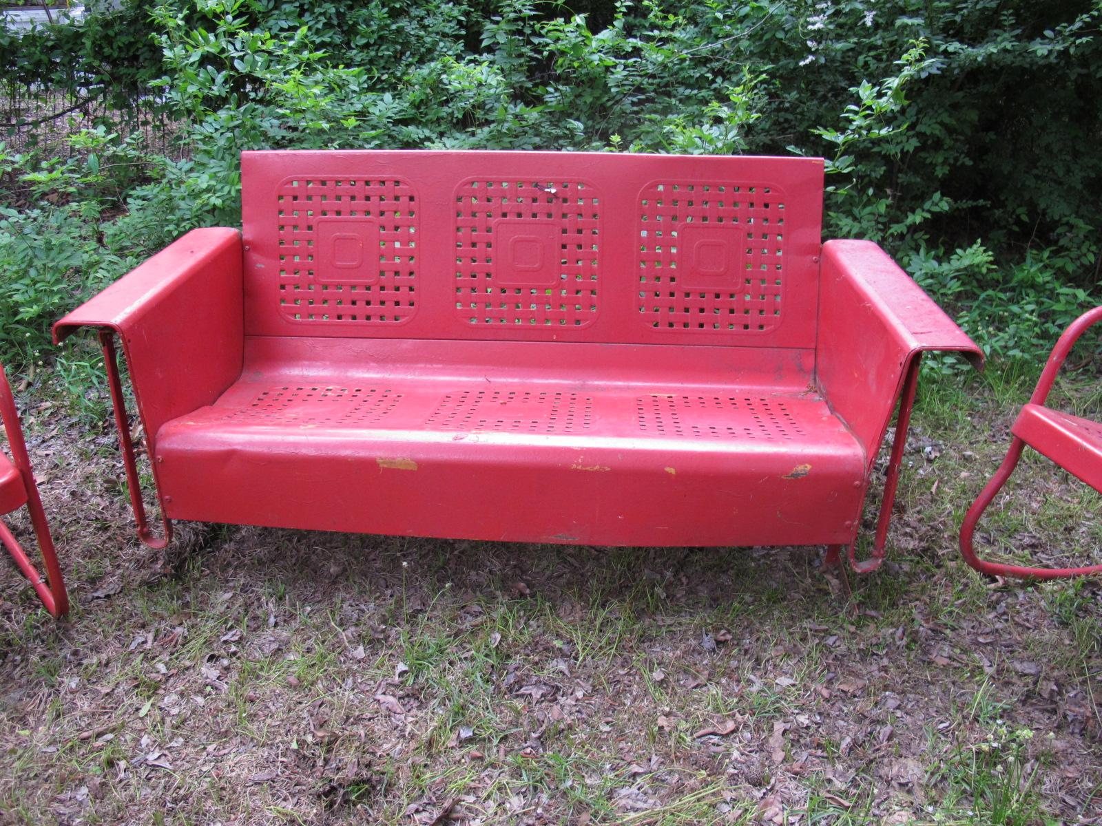 Vintage patio for Retro outdoor furniture
