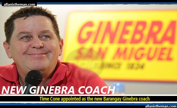 Tim Cone is new Barangay Ginebra coach: report