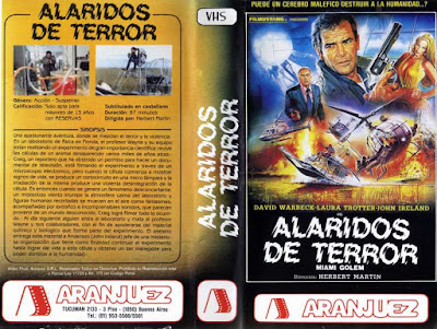 Carátula VHS Argentino