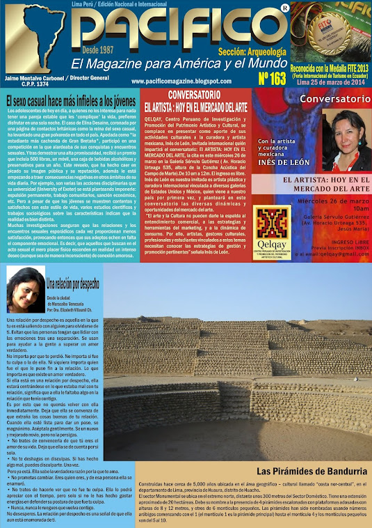 Revista Pacífico Nº 163 Arqueología