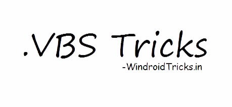 Cool Notepad Tricks (.VBScript Tricks)
