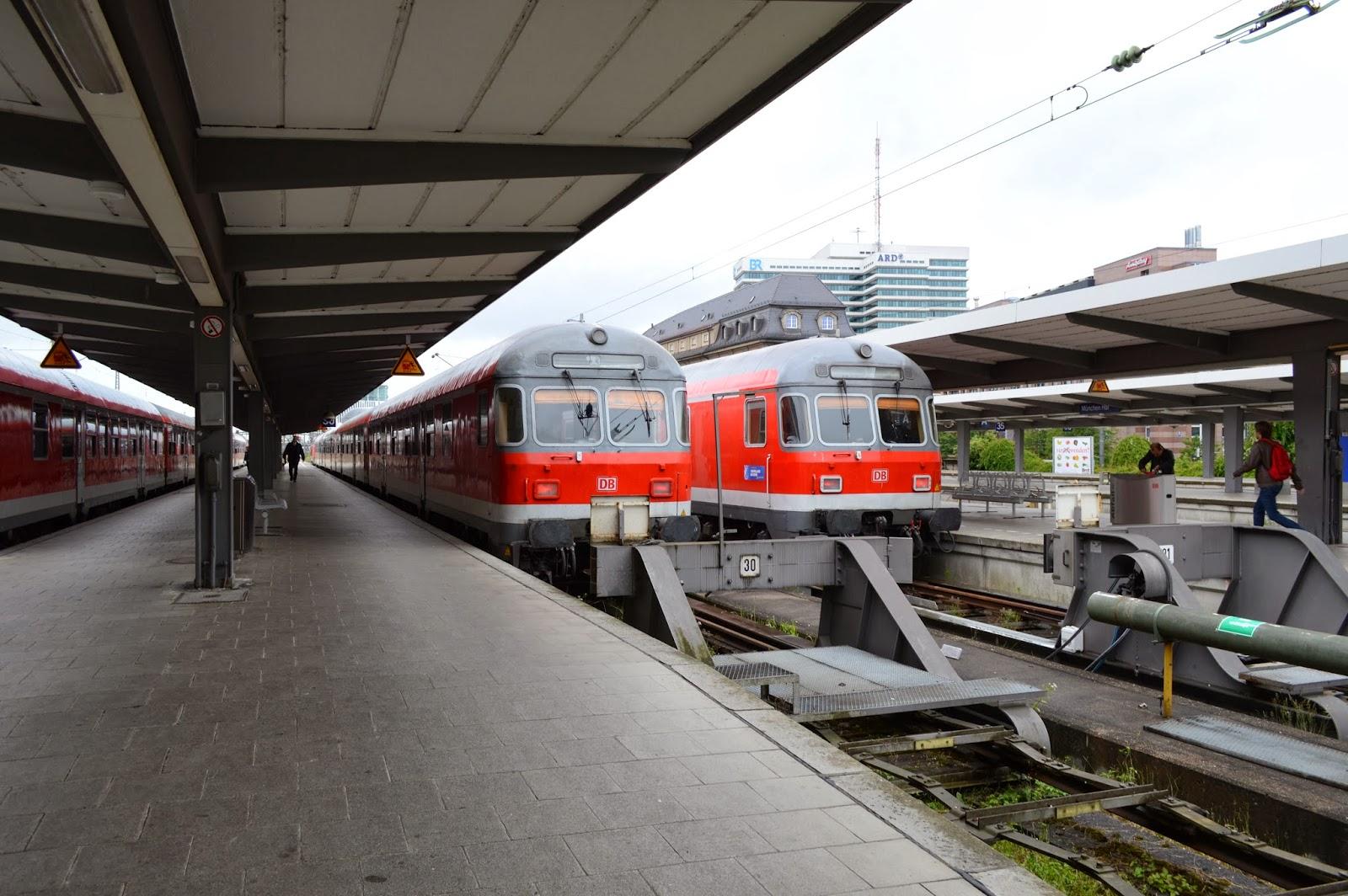 Füssen Train zug