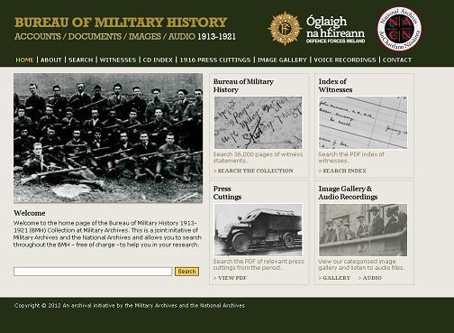 The genes blog irish bureau of military history records for Bureau records