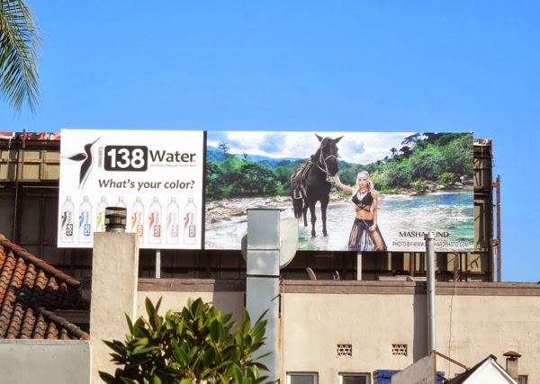 Masha Lund 138 Water billboard