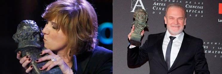Premios Goya del cine español, actores de reparto