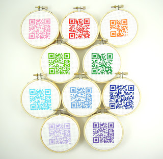 Picture of QR Code ornaments