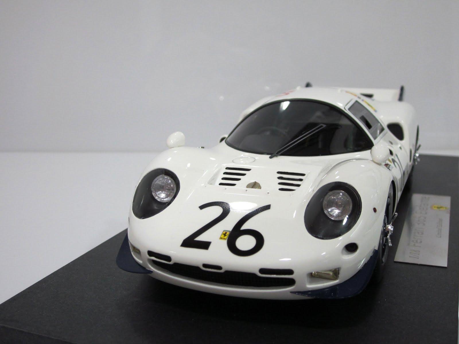 Ferrari 365 P2 Elefante #26 - 24 Horas de Le Mans 1967 - CMF