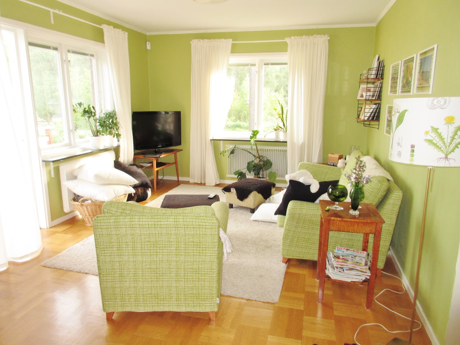 Pias Planer: Vardagsrum - Jag vill ha en fåtölj