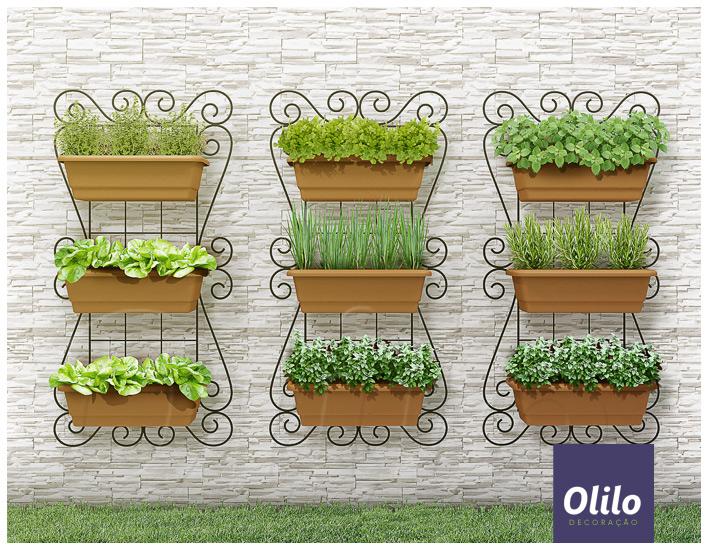 horta jardim vertical:Jéssica Galdino: Para se Inspirar: Horta/Jardim Vertical