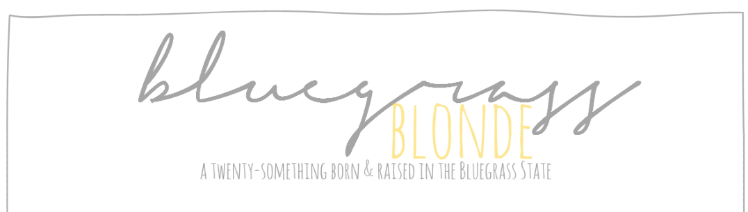 Bluegrass Blonde