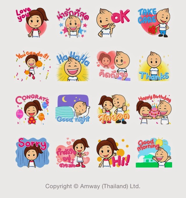 Lively Charlie & Chaba sticker