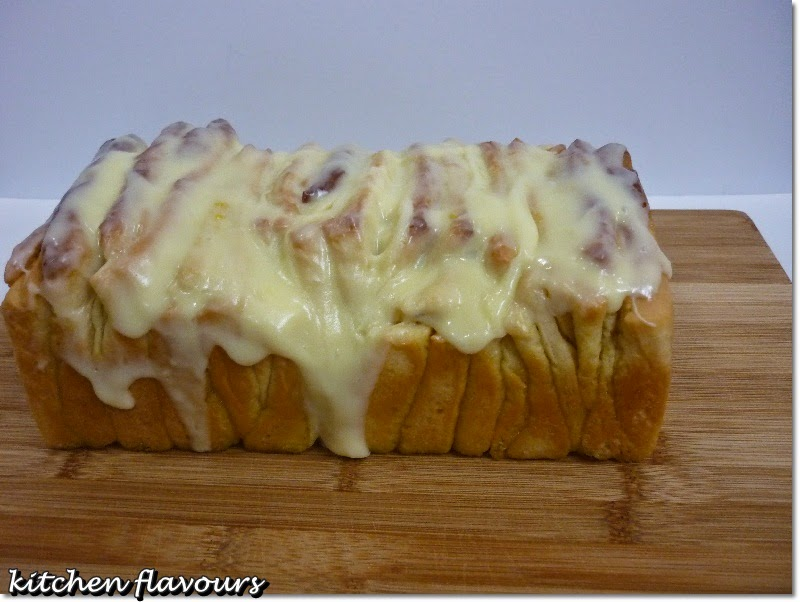 ... flavours: Lemon-Scented Pull-Apart Coffee Cake : Bake-Along #61