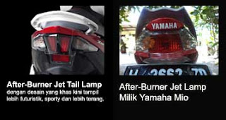 burner jet lamp new Xeon RC vs Mio Sporty