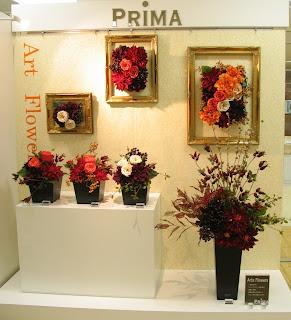 2012PRIMA秋のコレクションディスプレイ