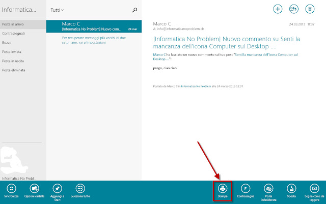 App mail Windows 8