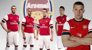 Arsenal team 2012