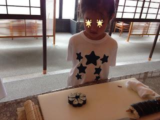 飾り寿司(キッズアカデミー 板前さんと巻き寿司作り体験)