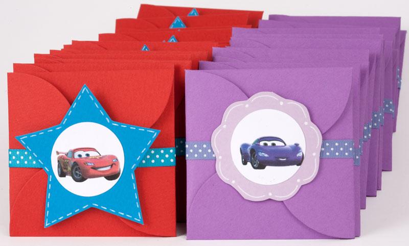 Ideas para hacer invitaciónes de cumpleaños de cars - Imagui