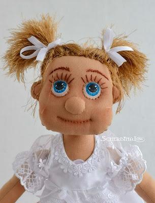 текстильная кукла карамелька, Кристина