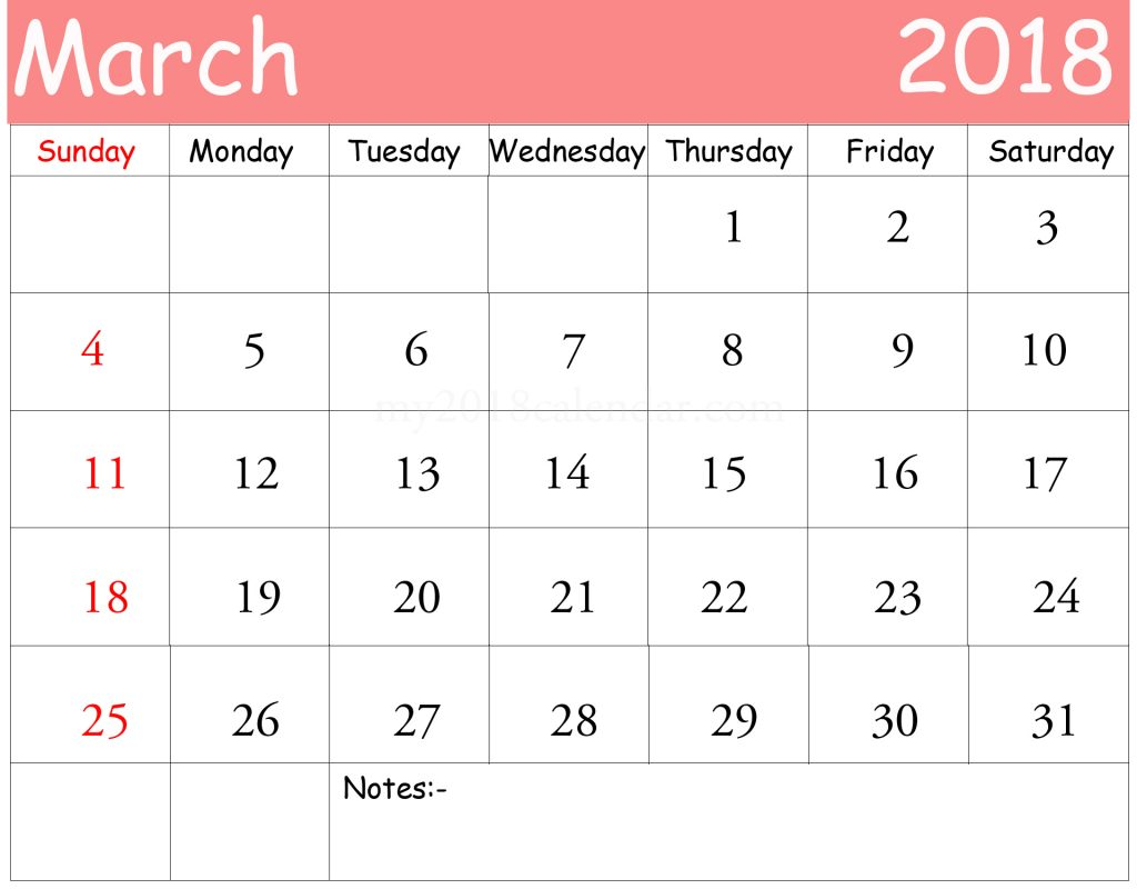 Calendar Planner Template : March monthly calendar printable templates
