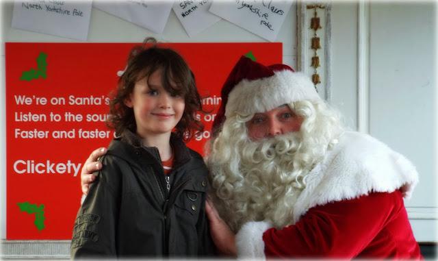 The Boy and Santa