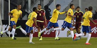 Results: Brasil 2-1 Venezuela (Copa Amerika 2015)