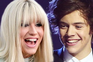 Ke$ha concerned One Direction fans want to beat her up after she was rumored to be dating Harry Styles