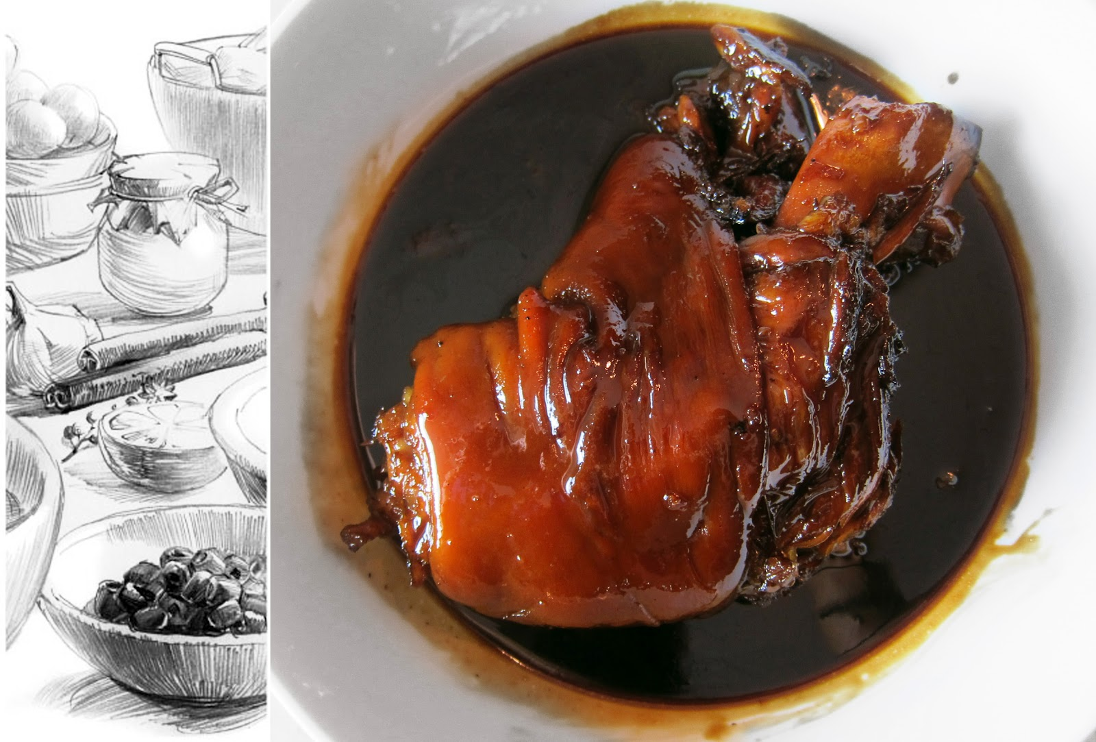 Shanghai Red Cooked Pork Hock 紅燒蹄髈 | Foodmanna