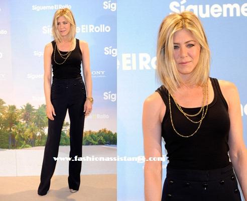 "Adam Sandler, Jennifer Aniston y Brooklyn Dexter presentaron en Madrid ""Sígueme el Rollo"""