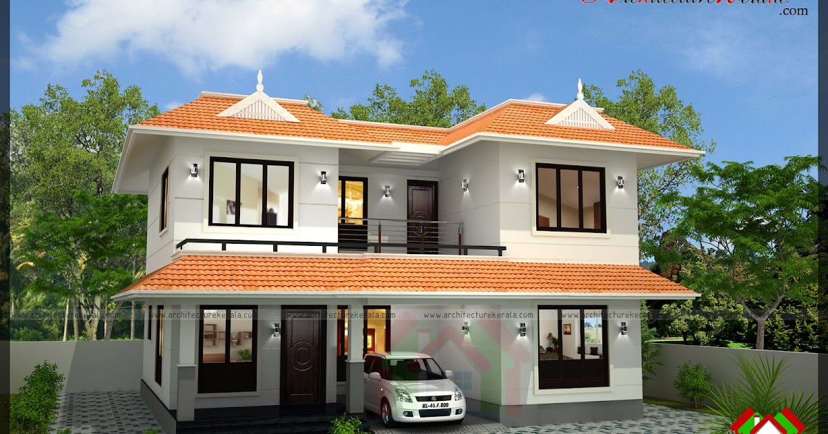 2000 sqft house in 3 5 cent plot architecture kerala for House in 2 cent