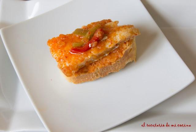 bacalao con salsa vizcaina
