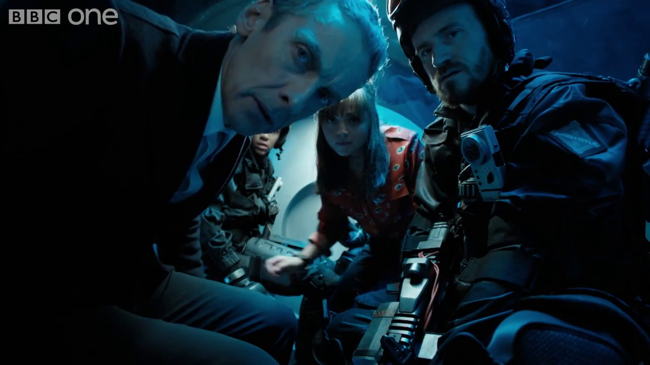 Doctor, Clara and co take a microscopic journey