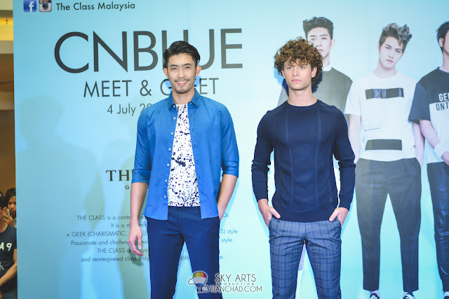 CNBLUE x THE CLASS MALAYSIA Fashion Show: Casual Wear