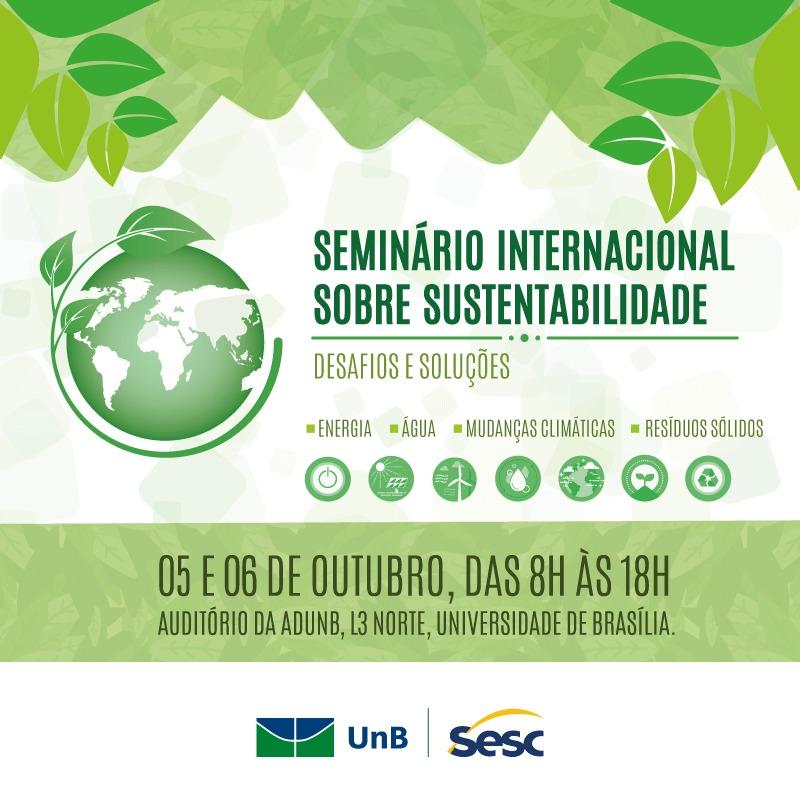 1º Seminário Internacional sobre Sustentabilidade