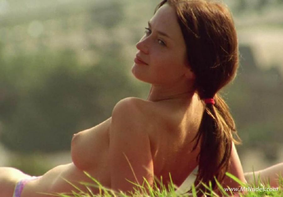 Emily Blunt topless