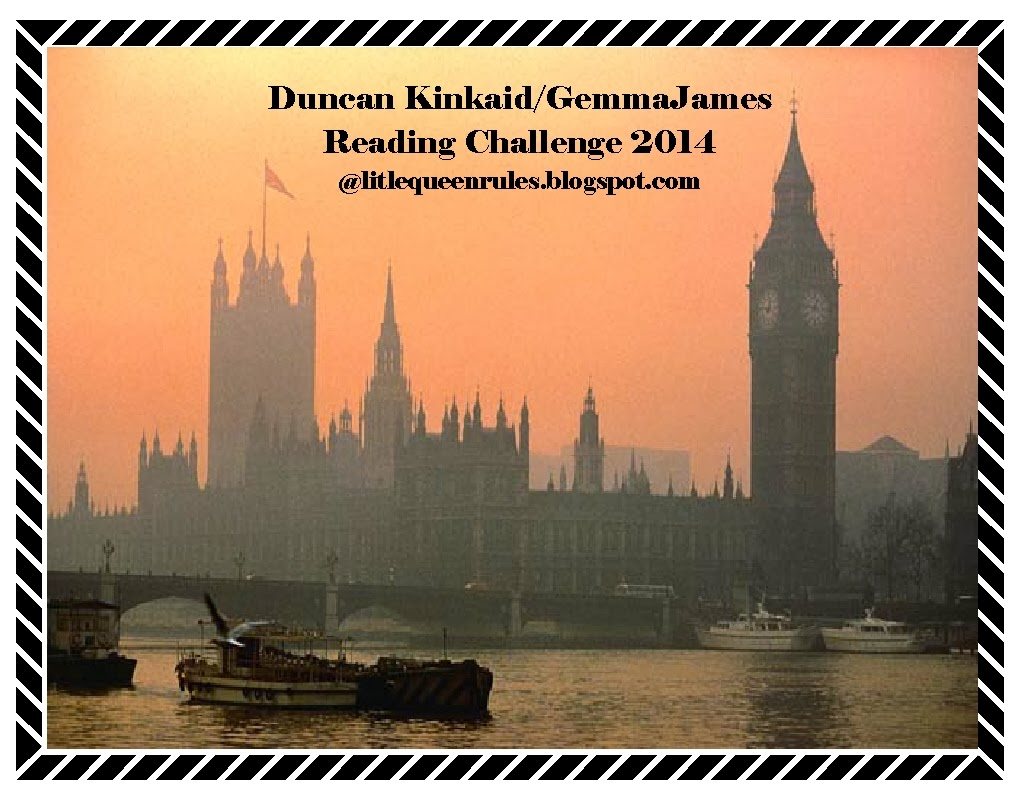 Duncan Kinkaid / Gemma James Reading Challenge