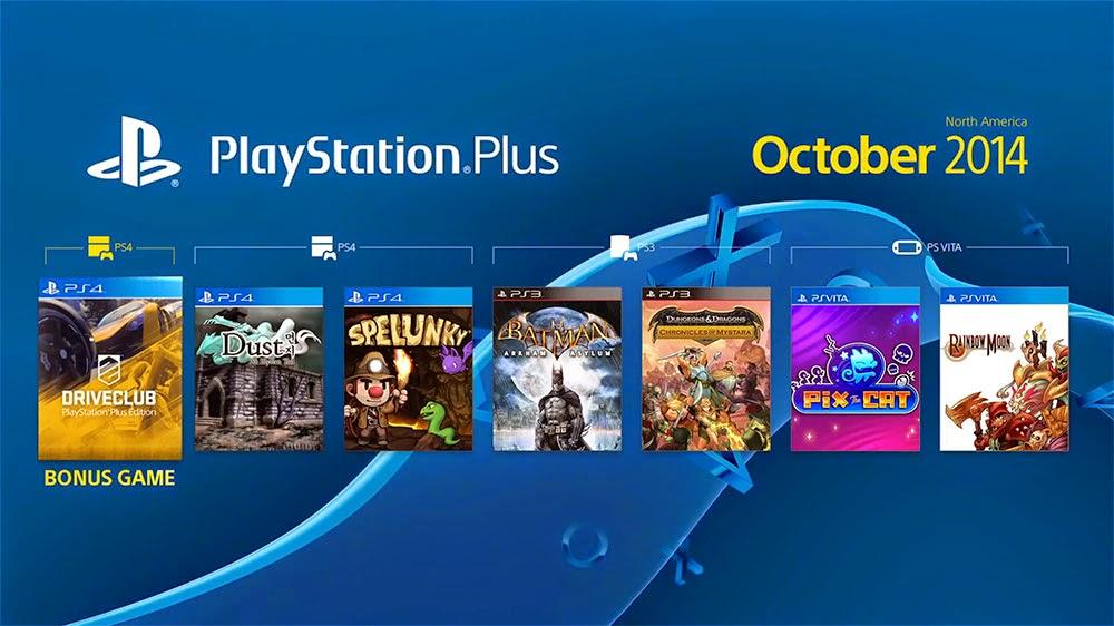 Photos des jeux gratuits du PlayStation Plus d' Octobre 2014