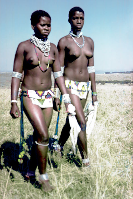 zulus girls african South