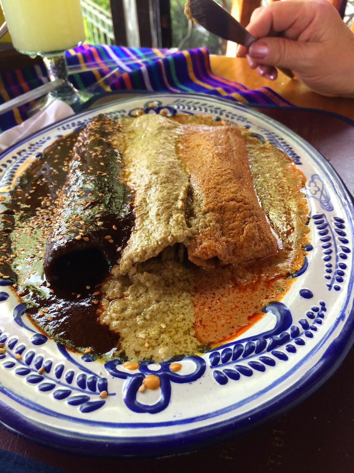 Enchiladas De Pipian Rojo Recipe — Dishmaps