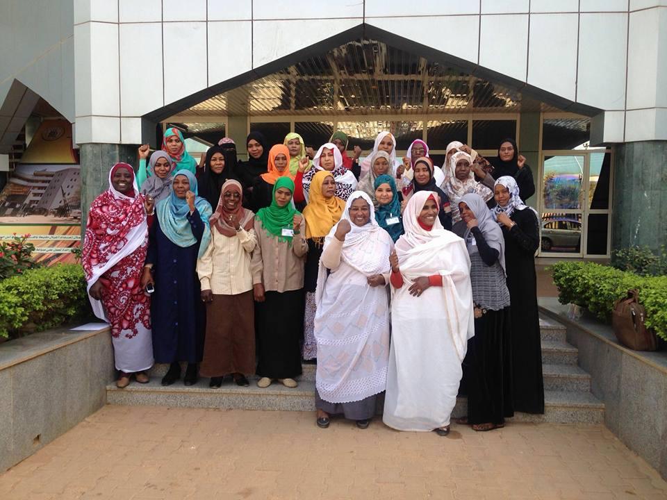 دورة التخطيط الاستراتيجي لمنسقات المرأة بالحدمة الوطنية في السودان مع مركز بترلايف