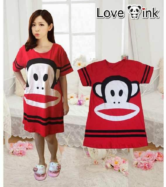 Dress Paul Frank Red (XL). Love Ink.