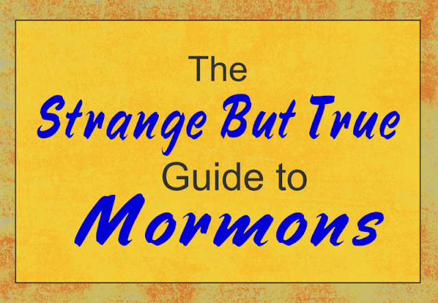 The Strange But True Guide to Mormons -- What's the difference between Mormonism and other religions? A bare bones primer for busy people who don't have all day.  {posted @ Unremarkable Files}